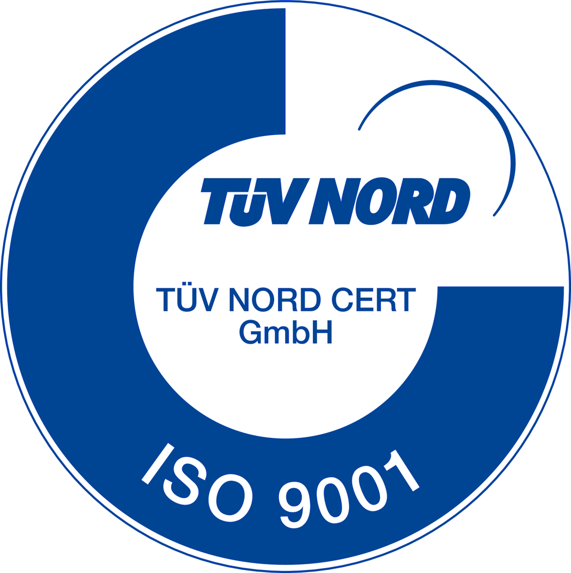 ISO 9001 CERTIFIED BY TUV NORD